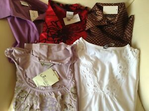 5 Women's Shirts - new with tags - size medium