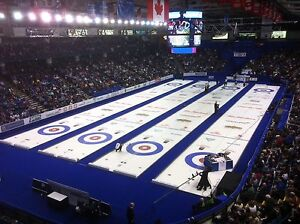CURLING COLLECTOR PINS ••• 2014 BRIER PINS.....HUNDREDS!!!