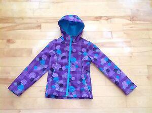 Girl's purple jacket, size 7/8