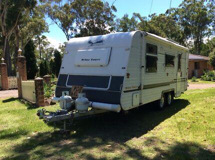2008 Golden Eagle Deluxe Tourer Caravan Medowie Port Stephens Area Preview
