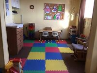 Home Daycare has one available spot