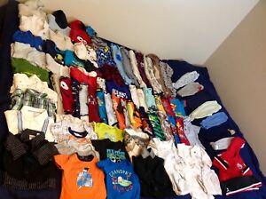Huge lot boys 3-6months clothes
