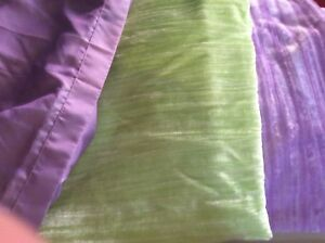 Curtain Panels 44 x 84.  Plus bed skirt
