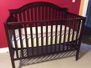 Crib toddler bed mattress and cover