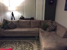 Lounge 3 seater + chaise. Quakers Hill Blacktown Area Preview