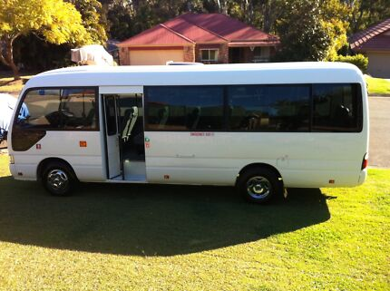 2011 Toyota Coaster -20 Passenger Seats VERY LOW KMS PRICE DROP!! Parkwood Gold Coast City Preview