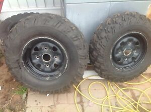 Can am rims and tires