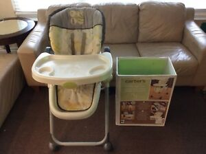 CARTERS BUMBLE FOLDING HIGHCHAIR BY SUMMER INFANT