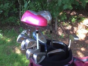Ladies Right-hand Wilson  golf clubs and accessories