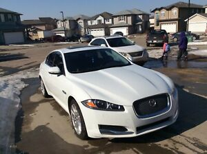 2014 Jaguar XF with warranty