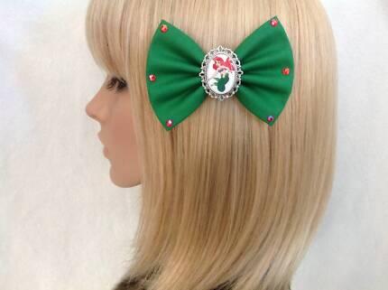 Castiel hair bow accessories gumtree australia kalamunda area rockabilly pin up punk gothic skull headbands hair bows accessory ccuart Gallery