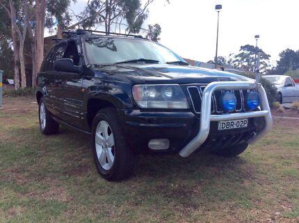 2001 Jeep Grand Cherokee Limited V8 Auto Luxury 4x4
