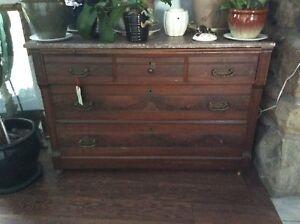 Marble top Antique desk