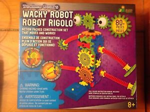 Wacky Robot Action Packet Construction Set
