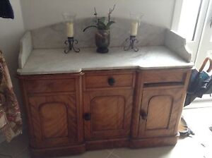 Marble topped chiffoneer Fitzroy North Yarra Area Preview