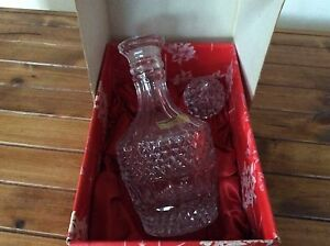 Bohemian Lead Crystal Sherry Decanter Kurnell Sutherland Area Preview