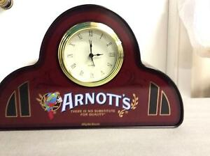 ARNOTTS BISCUIT CLOCK TIN COLLECTABLE Shellharbour Shellharbour Area Preview