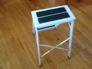 Vintage aluminum step ladder