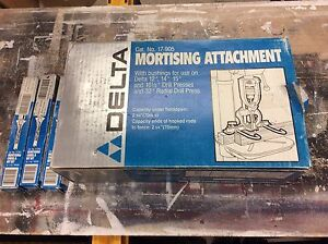 Mortising attachment and bit sets
