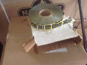 Gas line tracer tape