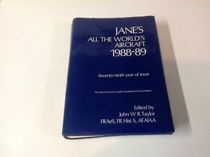 Janes All  The Worlds Aircraft 1988/89