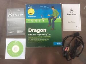 Dragon NaturallySpeaking 10 Cooranbong Lake Macquarie Area Preview