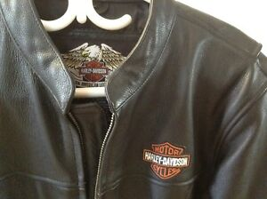 Harley Davidson Leather Jacket & Boots