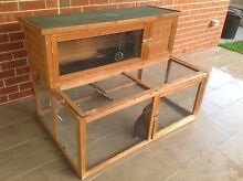 Large Rabbit hutch/ cage, two story Epping Ryde Area Preview
