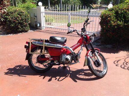 Ct 110 Honda Postie Bike Motorcycles Gumtree Australia Pine