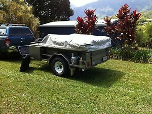 Cape Cruiser camper trailer priced for a quick sale Holland Park West Brisbane South West Preview