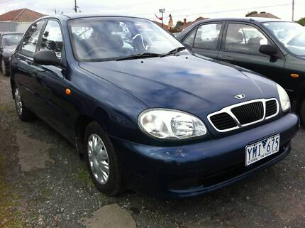 2002 Daewoo Lanos Hatchback REG RWC Oakleigh East Monash Area Preview