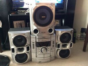 Moving Sale - Sony Stereo System