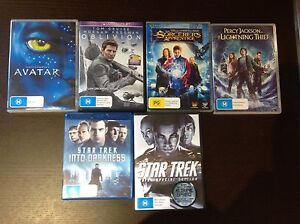 SCIENCE FICTION  (6 DVD's) Altona Hobsons Bay Area Preview