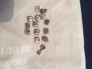 Genuine sterling silver Pandora charms Kingston Kingborough Area Preview