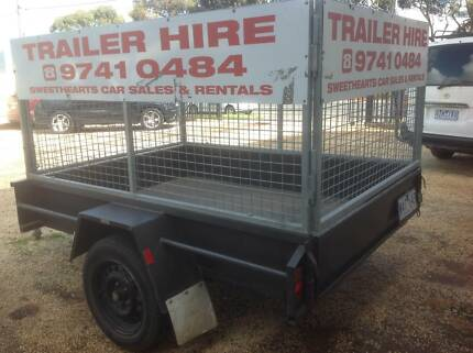 2015 5 x 7 CAGE TRAILER