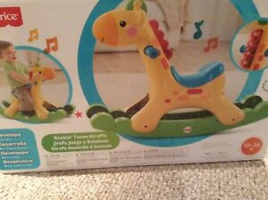 Fisher Price Rocking Tunes Giraffe
