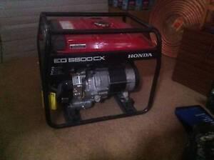 HONDA EG5500CX GENERATOR BRAND NEW - R.R.P $2,399 Wollongong Wollongong Area Preview