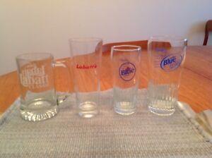 Labatts beer glasses