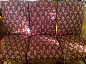Boyac Premium Beautiful French Fleur-de-Lys Dining Chairs x 8 Sandringham Bayside Area Preview