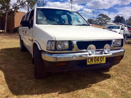 1991 Holden Rodeo TF Ute Duel Cab 4 Cyl 5 speed Many extras