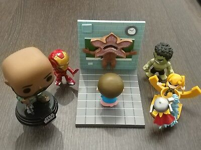 Pack 5 Figuren Hulk - Iron Man - 11 / Demogorgon - Thor und Loki - Saw Krieger ()