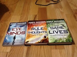 The complete 'The Mortality Doctrine' series by James Dashner.