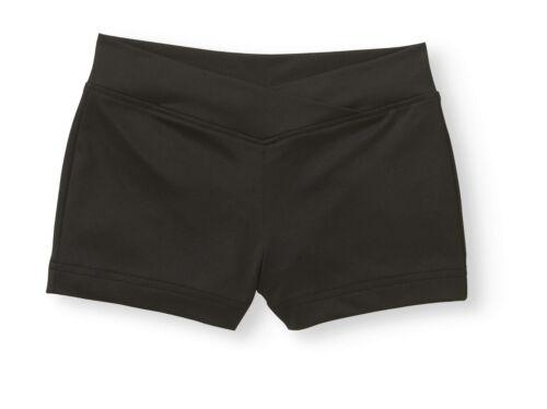 Girls Danskin Now Nylon Dance Shorts: S(6-6X)-M(7-8)-L(10-12)-XL(14-16)