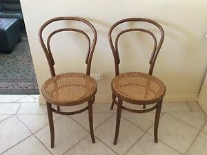 Chairs Bentwood pair Kingsley Joondalup Area Preview