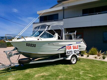 Bay Cruiser Runabout 4.55, As New