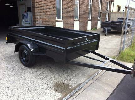 "8x5x20"" high side heavy duty trailer 1 year private rego free Mortdale Hurstville Area Preview"