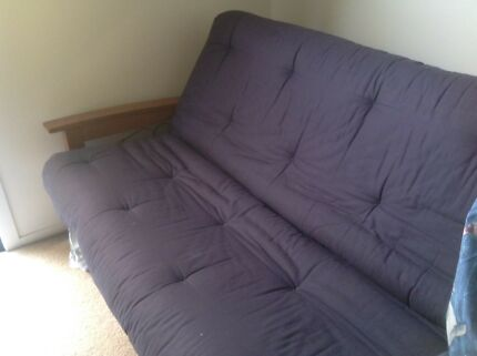 Double futon / couch / sofa/bed