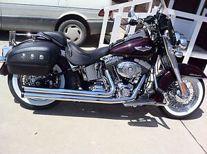HD Softail deluxe 2011