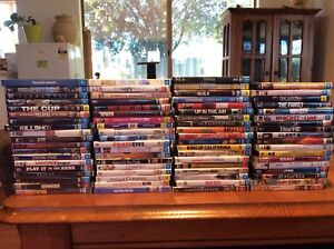 DVDs, 75 assorted titles
