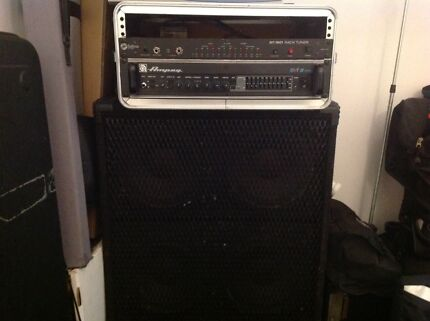 Ampeg SVT 3 Pro Bass Amplifier and Eminence 4 x 10 Bass Cabinet